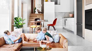 Architect Jeremy Bull gave his Sydney terrace a stunning modern renovation