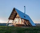 Inside Kimo Estate's luxury cabin near Gundagai, NSW