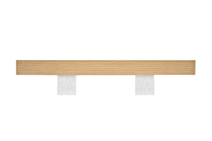 "**Pulls** G4730 timber handle, from $375.38, [Designer Doorware](https://www.designerdoorware.com.au/|target=""_blank"")."