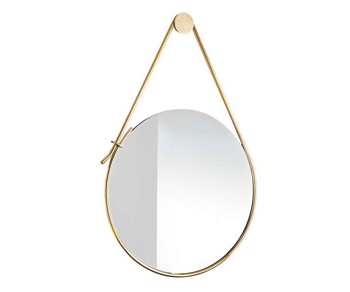 "**Mirror** Debra Folz mirror, $399, [West Elm](http://www.westelm.com.au/|target=""_blank"")."