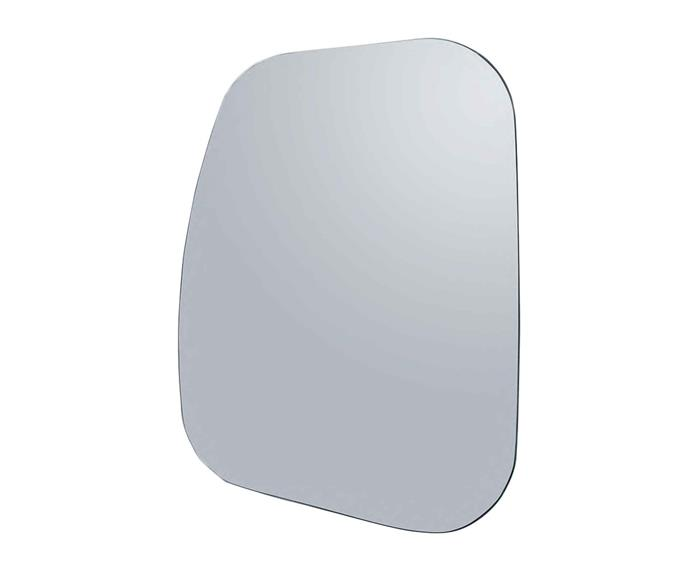"**Mirror** Falper 'Shape' mirror, $999, [Rogerseller](https://www.rogerseller.com.au/|target=""_blank"")."