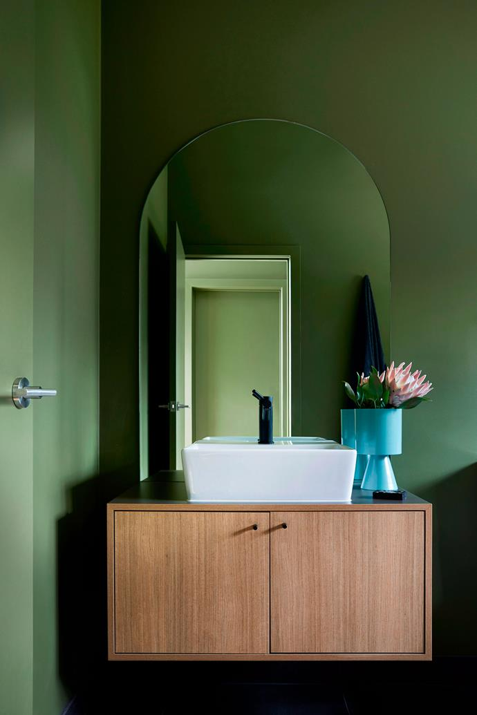 Bathrooms without windows can be prone to mould growth. Seek out ways to increase ventilation, either with the installation of an exhaust fan or a dehumidifier specifically designed for wet areas. *Photo: Armelle Habib / bauersyndication.com.au*