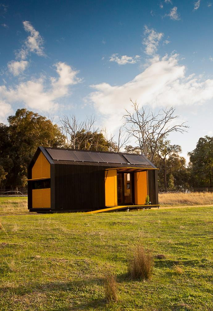 "RACV enlisted Peter Maddison to create a cosy tiny home that's full of clever ideas. *Image courtesy: [The RACV](https://www.instagram.com/theracv/|target=""_blank""