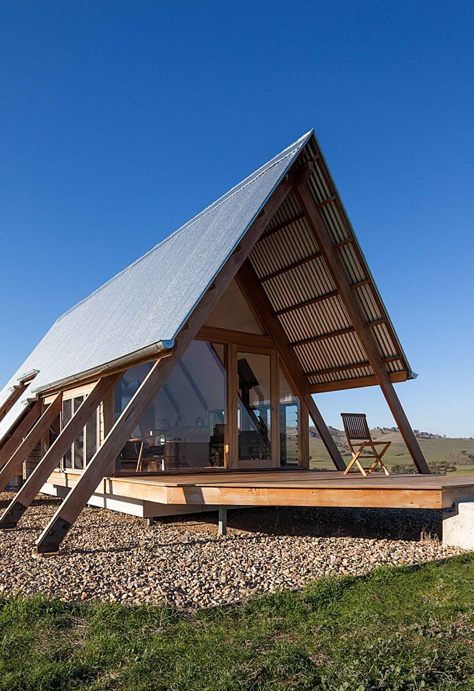 """The [eco-friendly Kimo Estate](https://www.homestolove.com.au/luxury-cabin-kimo-estate-20244