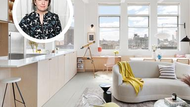 Lena Dunham's chic Brookyln apartment is for sale