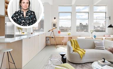 Lena Dunham's chic Brookyln apartment is for sale