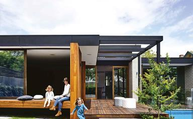 Timber and brick transformed this Melbourne family home