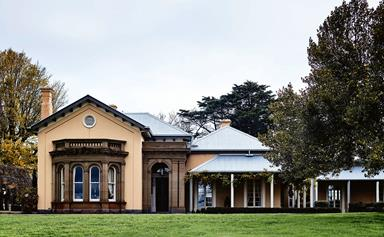 A historic homestead near Ballarat that's fit for royalty