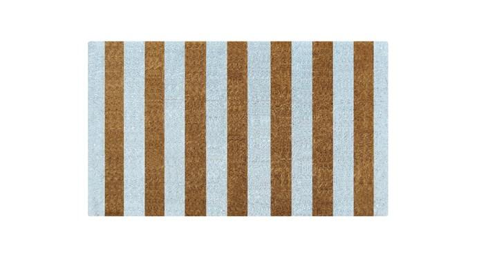 "Ice Stripes Coir Doormat, $70, at [Temple & Webster](https://www.templeandwebster.com.au/Ice-Stripes-Coir-Doormat-PD23991-DOOR1644.html target=""_blank"" rel=""nofollow"")"