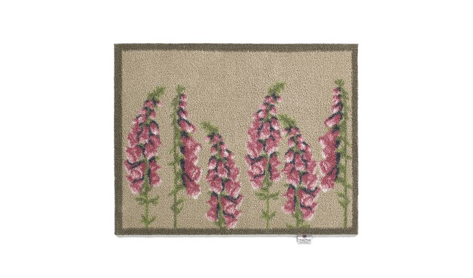 """Floral Washable Recycled Door Mat - Pink, $80, at [Amara](https://www.amara.com/au/products/floral-washable-recycled-door-mat-pink-65x85cm target=""""_blank"""" rel=""""nofollow"""")"""