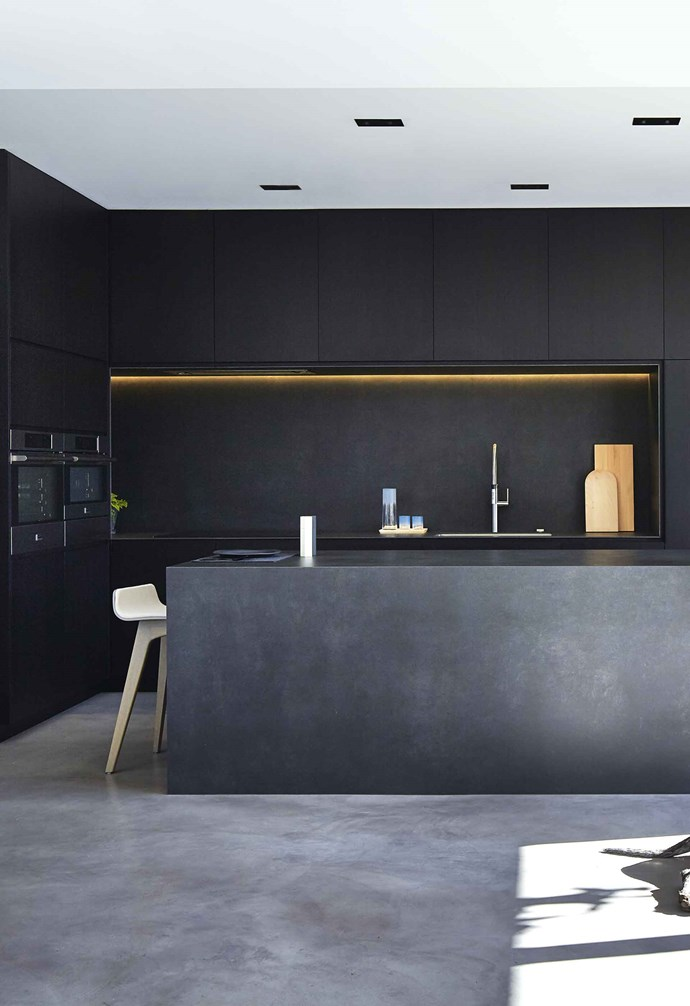 "An **under-cabinet** light, as in this Melbourne house by [DKO Architecture](https://dko.com.au/|target=""_blank""