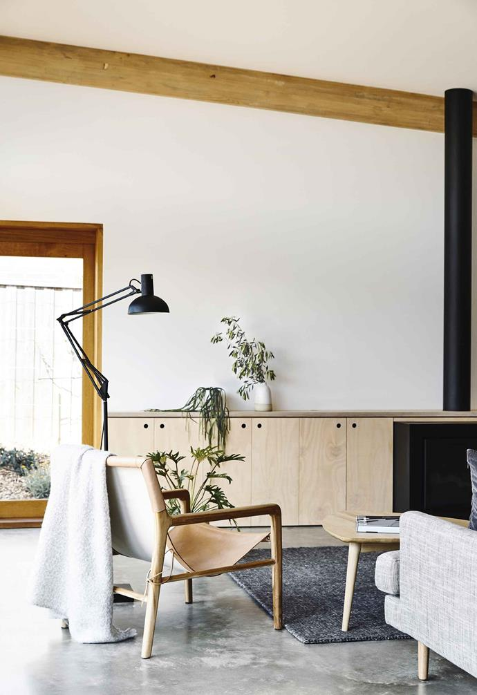 "In the living area of this Ballarat house by [Eldridge Anderson](https://www.eldridgeanderson.com.au/|target=""_blank""