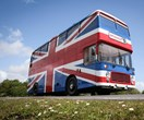Stop right now! The bus from the Spice Girls movie is available to rent on Airbnb