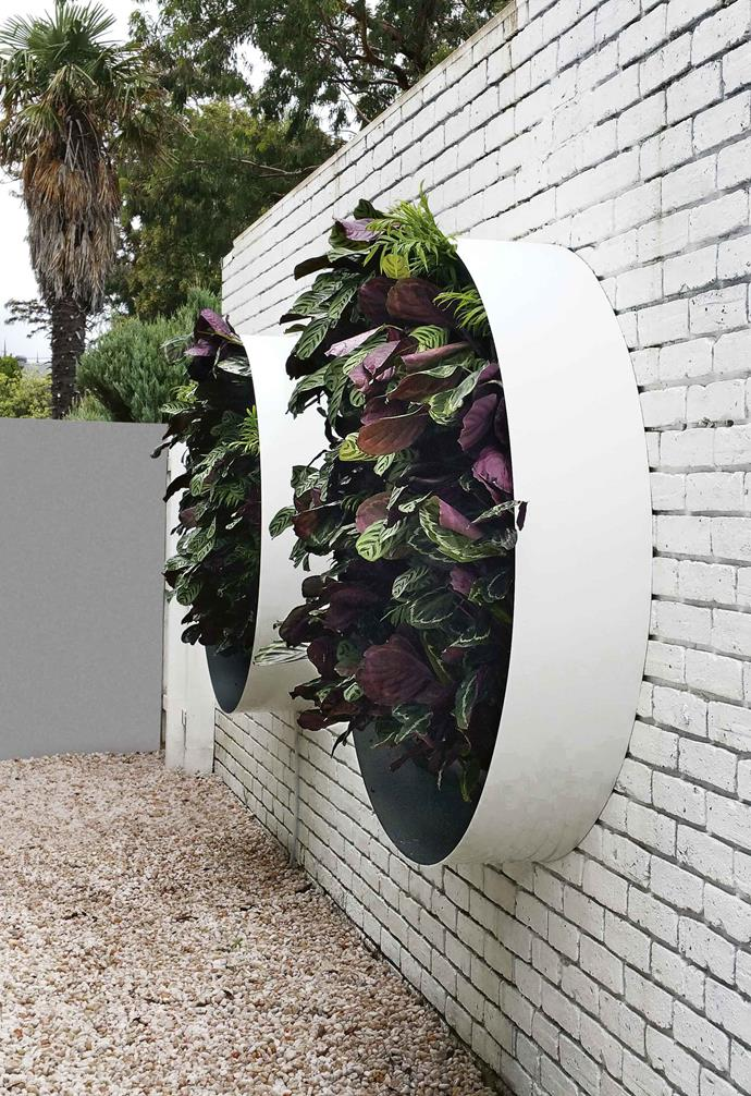 "This circular garden feature in Melbourne by [Vertical Gardens Australia](http://verticalgardensaustralia.com.au|target=""_blank""