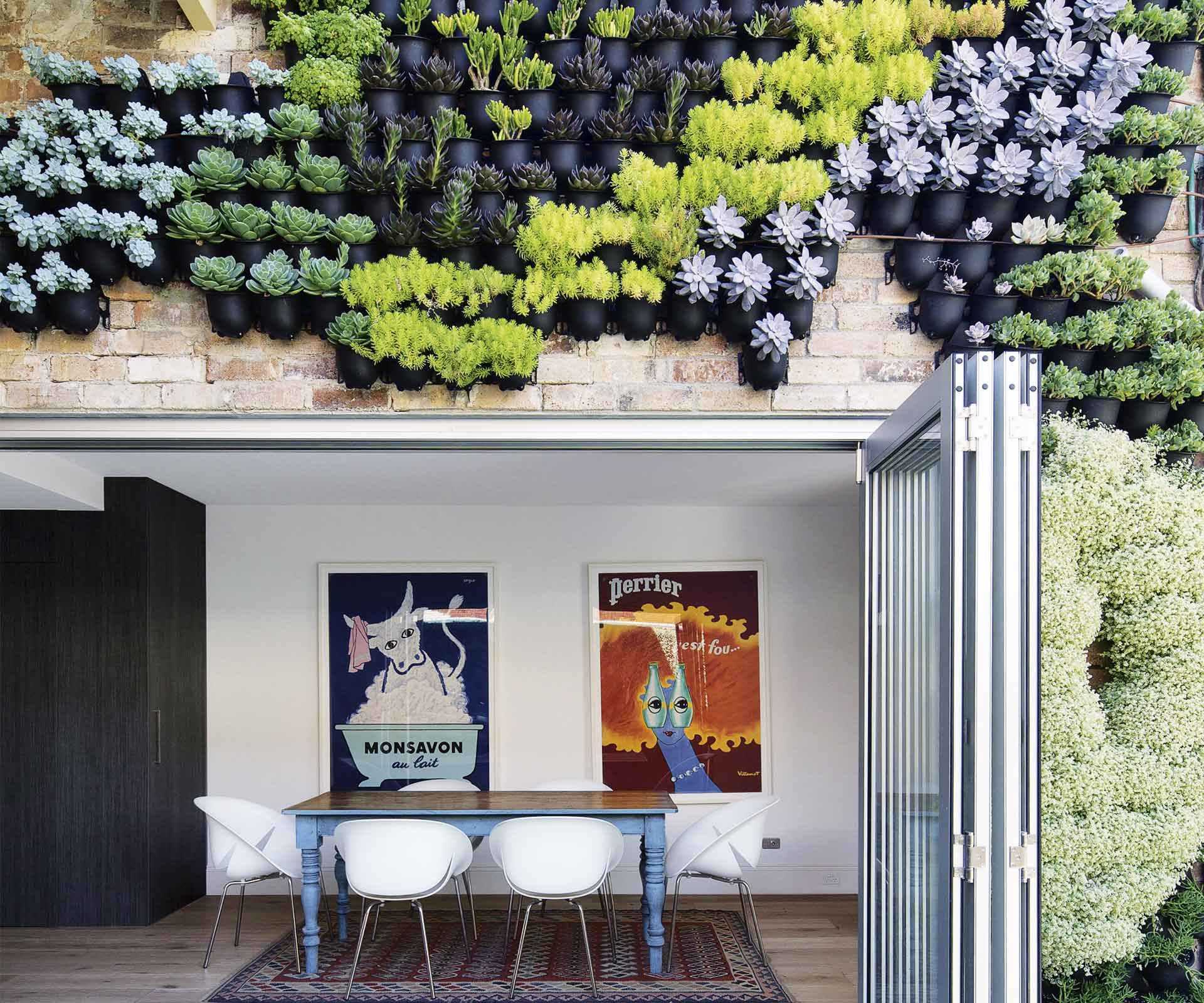 12 vertical garden ideas to inspire your own green wall | Inside Out