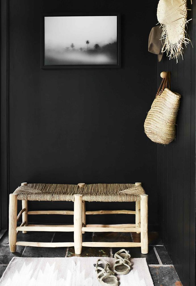 "**Entry** A dramatic wall in [Taubmans](https://www.taubmans.com.au/homeowners|target=""_blank""