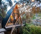 This epic modern treehouse has been shortlisted for the Tasmanian Architecture Awards