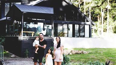A chalet style house in Noosa makes the most of its rainforest location