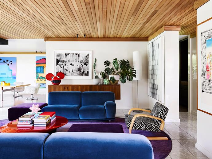 Fashion, art, design and the home's original architecture inspired the Caulfield North residence project.