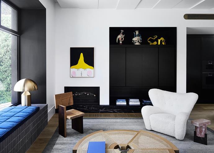 Hawthorn residence living room.