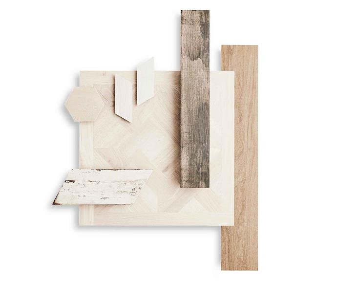 "**Top picks** *(Top L-R)* Hexawood Timber porcelain tile, $89 per sq m, [Teranova](http://teranova.com.au/|target=""_blank""