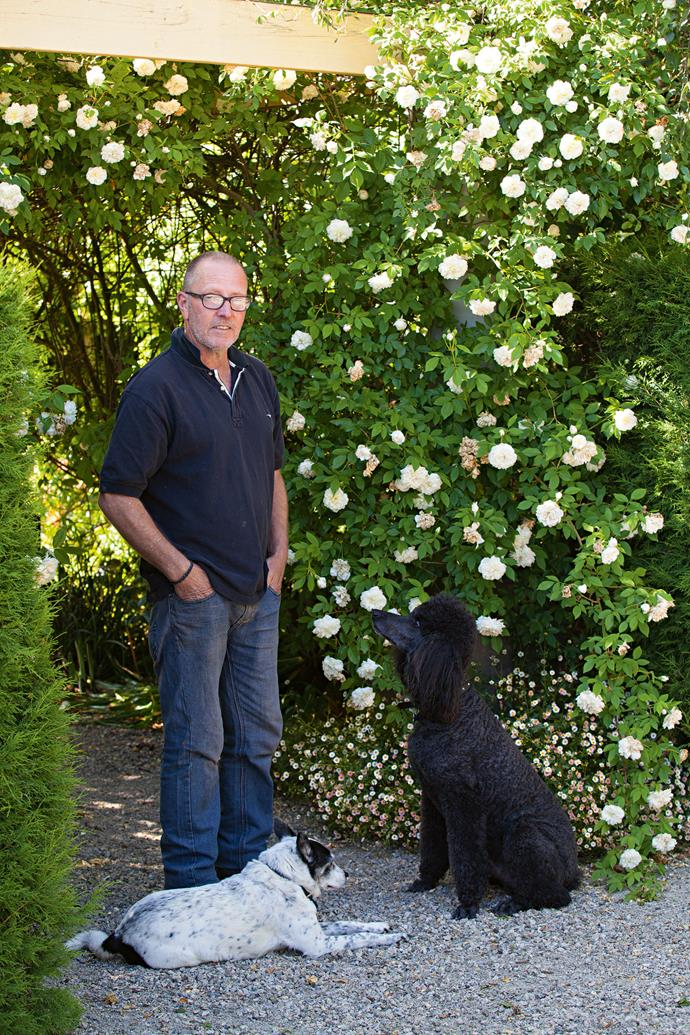 """""""When we came here 20 years ago, we started planning and creating the garden as we built the house,"""" Philip recalls. """"Obsessed gardeners, we planted masses of trees, levelled lawn areas and [created garden beds](https://www.homestolove.com.au/raised-garden-beds-9873