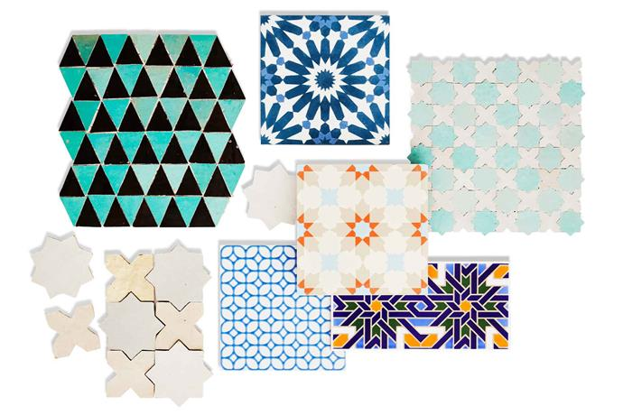 "**Top picks** *(Top L-R)* Casa Handmade 'Sefrou' terracotta tiles, POA, [Onsite Supply + Design](http://onsitesd.com.au/|target=""_blank""