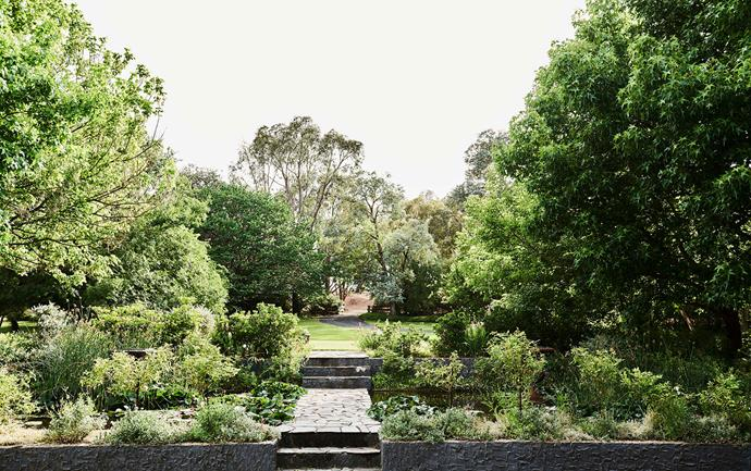 In the lead up to their 2017 wedding, Angus did substantial work to bring the gardens back to their former glory.
