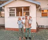 Kyal and Kara are building their 'forever' family home on the NSW Central Coast