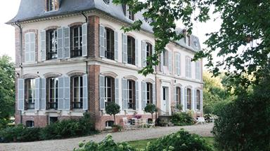Tour a charming French chateau home in Burgundy, France