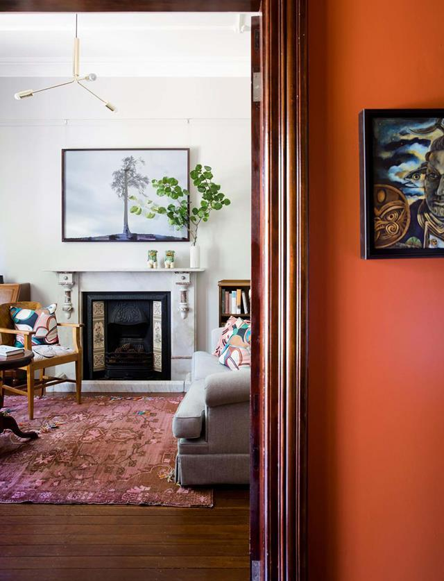 "A [colourful interior refresh](https://www.homestolove.com.au/federation-home-revived-with-colour-20050|target=""_blank"") by interior designer Brett Mickan revived the heart and soul of this lovingly restored Federation cottage in Sydney."