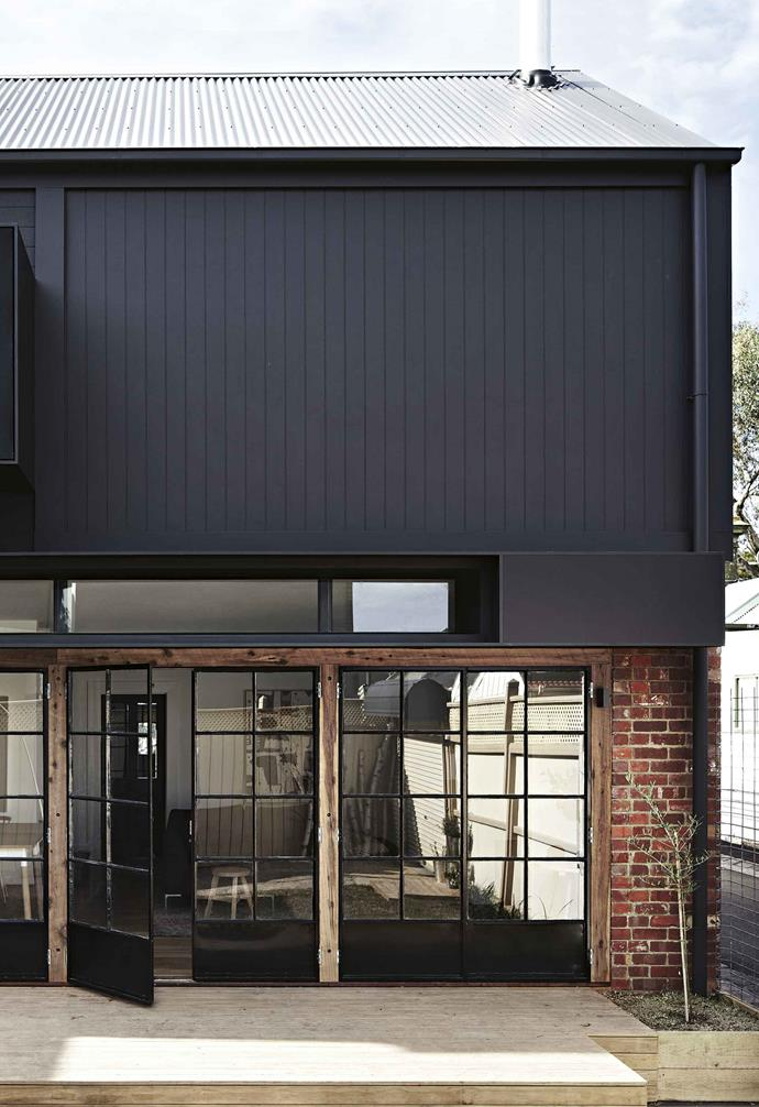 Corrugated steel is a hard-wearing roofing material that's a popular choice for Australian homes.