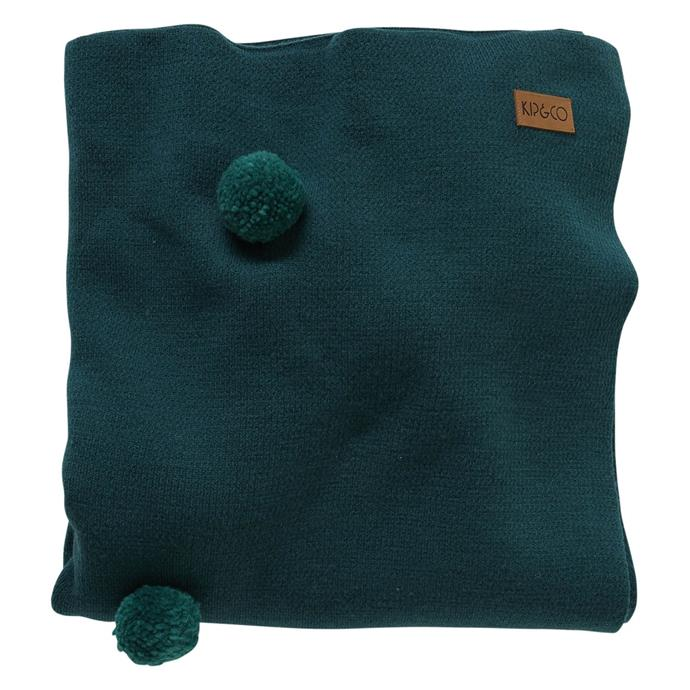 "Dark emerald 100% wool pom pom **blanket**, from $189 from [Kip & Co](https://kipandco.com.au/dark-emerald-100-wool-pom-pom-blanket.html|target=""_blank""