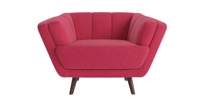 """Percy armchair in Flambé Pink, $649, [Brosa](https://www.brosa.com.au/products/percy-armchair?SKU=ARMPER60PAFC