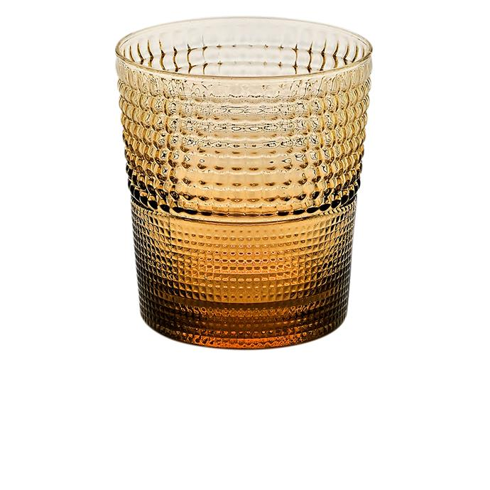 """IVV """"Speedy"""" tumbler in Amber, $150 for set of 6, [House](https://www.house.com.au/product/ivv-by-noritake-speedy-coloured-tumbler-set-of-6