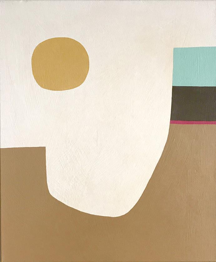 "Vanilla Glaze artwork by Rachael McCully Kerwick (62cm x 52cm), $850 framed, [Curatorial+Co](https://curatorialandco.com/|target=""_blank""|rel=""nofollow"")."