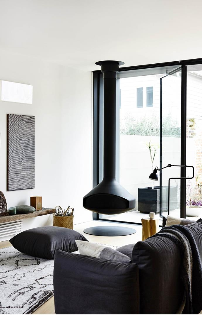 """A facelift and rear extension by Annick Houle and Stephen O'Connor of O'Connor and Houle Architecture has transformed this [Victorian terrace](https://www.homestolove.com.au/gallery-annick-and-stephens-chic-terrace-extension-2327