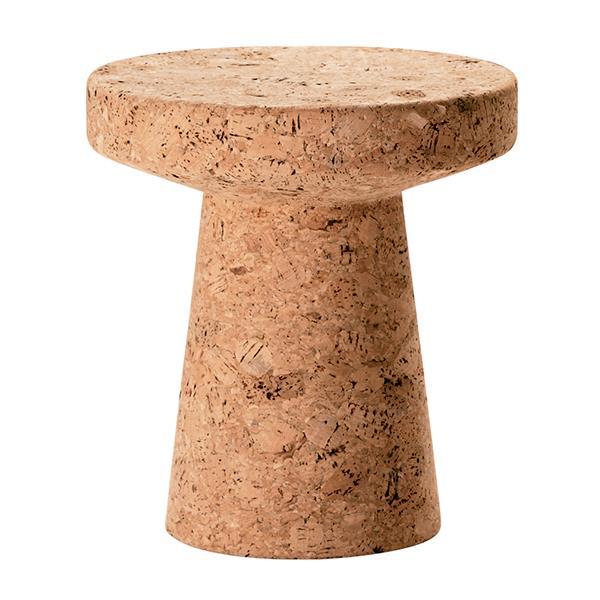 "Vitra ""Cork Model C"" cork side table, $ 775, [Finnish Design Shop](https://www.finnishdesignshop.com/furniture-chairs-stools-cork-family-model-p-13706.html?region=au&gclid=CjwKCAjwiZnnBRBQEiwAcWKfYiYwSF6P6Pss2x-3cxjB_hM_ksu9poV7ZHCYj_cR5yCW2Al8EALDABoCSFgQAvD_BwE|target=""_blank""|rel=""nofollow"")"
