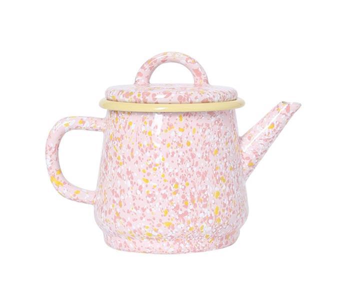 "Strawberry Bomb Enamel Teapot, $59, [Kip & Co](https://kipandco.com.au/home/enamel/strawberry-bomb-teapot.html|target=""_blank""|rel=""nofollow"")"