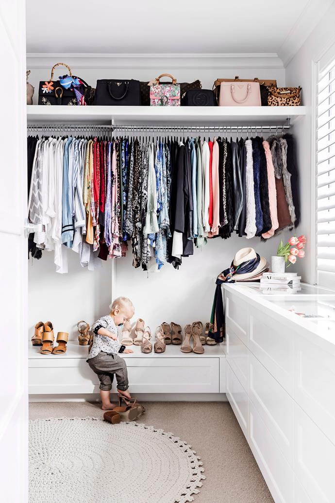 Avoid overfilling your wardrobe to enable the free-flow of air. Mould also likes dark spaces, so it's a good idea to position the wardrobe near sunlight, if possible.