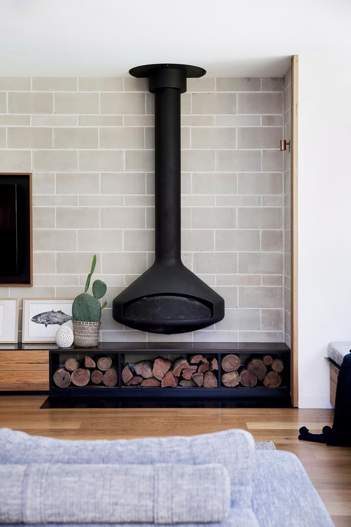 "A 'Pax Focus' fireplace from [Abbey Fireplaces](https://www.thefireplace.com.au/|target=""_blank""