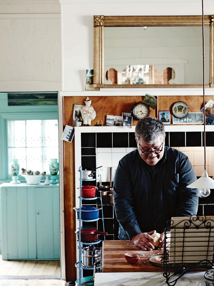 Jeff makes shortbread using his grandmother's recipe.