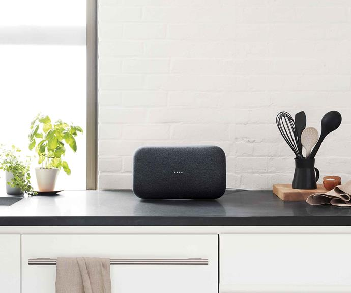 "**New vision** Advances in kitchen appliances mean they can now connect seamlessly with smart technology, such as [Google Home Max](https://store.google.com/au/product/google_home_max|target=""_blank""