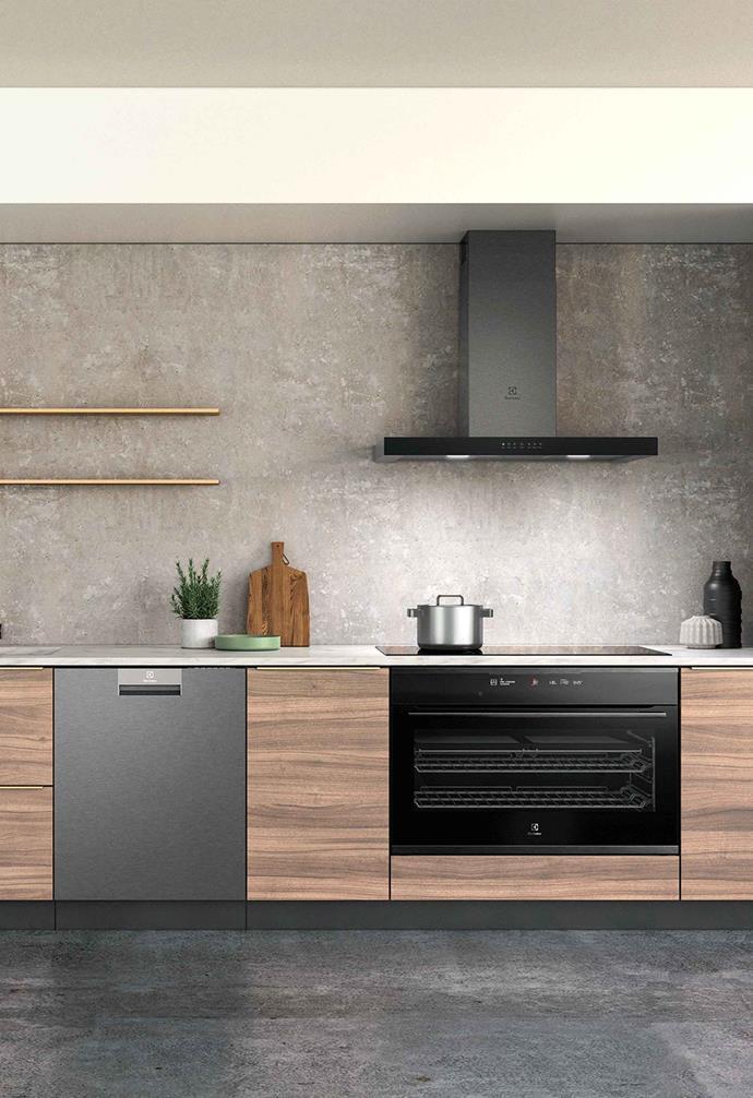 Electrolux's FlexiBridge range includes an induction cooktop.