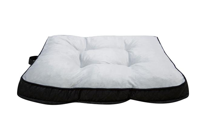 "This cloud-like memory foam bed will ensure your pet is well supported for an extra comfy sleep. 'Happy Tails' Memory Foam bed, $70, from [Bunnings](https://www.bunnings.com.au/happy-tails-88-x-78cm-memory-foam-pet-bed_p0087066|target=""_blank""