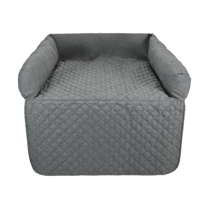 "This clever couch cover is the [Kmart pet accessory](https://www.homestolove.com.au/kmart-pet-accessories-20163|target=""_blank"") everyone is raving about! If your pet thinks the couch is its bed, pop this on to protect it from dirt and fur and simply wash it as you need. Pet Quilted Couch Topper, $20, from [Kmart](https://www.kmart.com.au/product/pet-quilted-couch-topper/2348803
