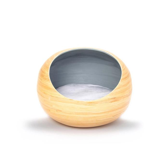 "It doesn't get much more snug than this! Made for cats or small dogs, this bamboo pet cave provides the perfect place to curl up. Bamboo Pet Cave, from $149.95, from [Modern Pets](https://www.modernpet.com.au/collections/cat-beds/products/cat-bed-modern-bamboo-pet-cave|target=""_blank""