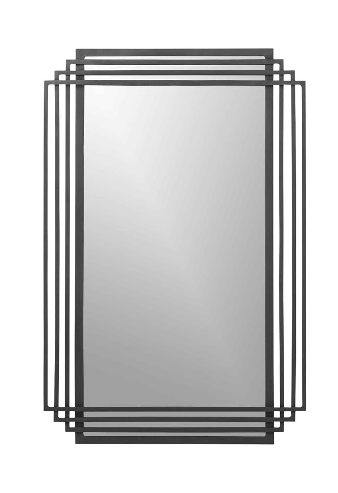 "Myrtle rectangle wall mirror (60 x 90cm), $300.50, [CB2](https://www.cb2.com/|target=""_blank""|rel=""nofollow"")."