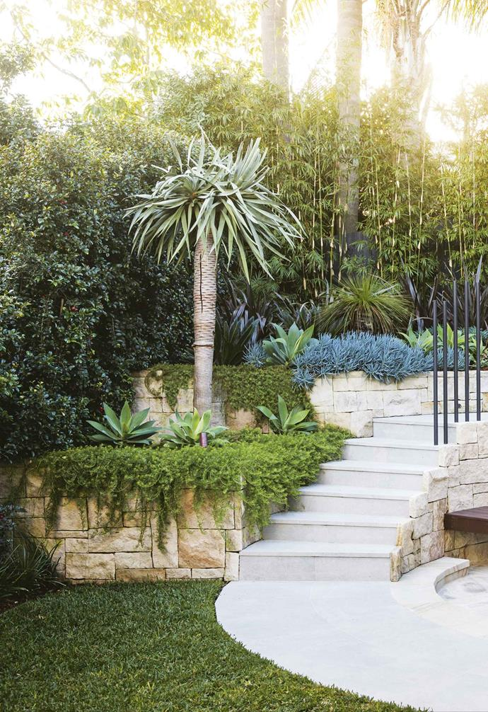 """We wanted a durable, [low-maintenance garden](https://www.homestolove.com.au/12-low-maintenance-garden-ideas-4002