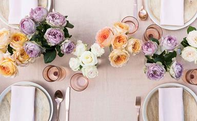 3 ways to create a lovely table setting from formal to child friendly